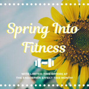 March 2019 Promo - Spring Into Fitness