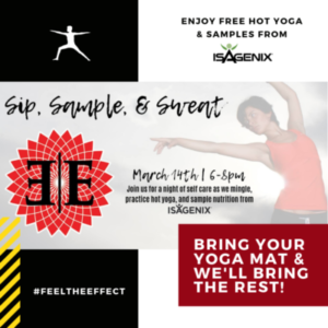 March 2019 Promo - Free Hot Yoga